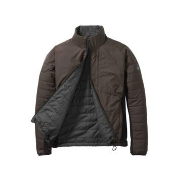 BERETTA Reversible Dark Brown/Charcoal BIS Jacket (GU973T140408A4)
