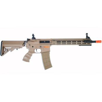 TIPPMANN Recon AEG Carbine 14.5 in. Barrel M-Lok Shroud Tan Air Gun (94221)