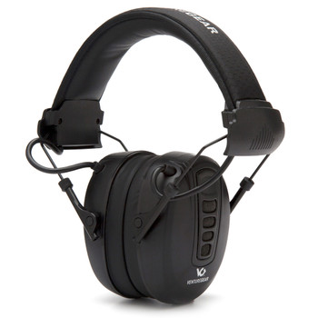 VENTURE GEAR Clandestine 24dB Black Electronic Earmuff (VGPME10)