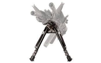 BLACKHAWK Pivot TraverseTrack Black Adjustable 13.5-23in Bipod (71BP11BK)