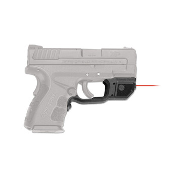 CRIMSON TRACE Laserguard Red Laser Sight for Springfield Armory XD Mod.2 (LG-496)