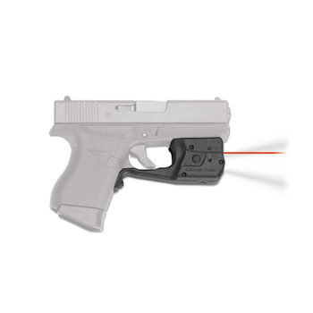 CRIMSON TRACE Laserguard Pro Red Laser Sight and Tactical Light for Glock 42, 43 (LL-803)