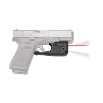 CRIMSON TRACE Laserguard Pro Red Laser Sight and Tactical Light for Glock Full Size & Compact (LL-807)