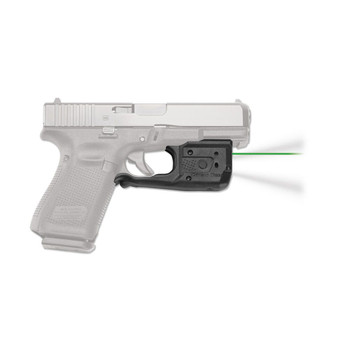 CRIMSON TRACE Laserguard Pro Green Laser Sight and Tactical Light for Glock Full Size & Compact (LL-807G)