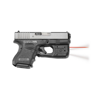 CRIMSON TRACE Laserguard Pro Red Laser Sight and Tactical Light for Glock Subcompact (LL-810)