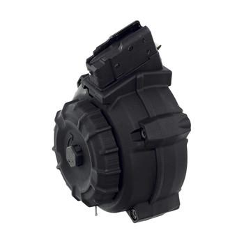 PROMAG Fits AK-47 Fits 7.62x39mm 50rd Polymer Black Drum Magazine (DRM-A9)