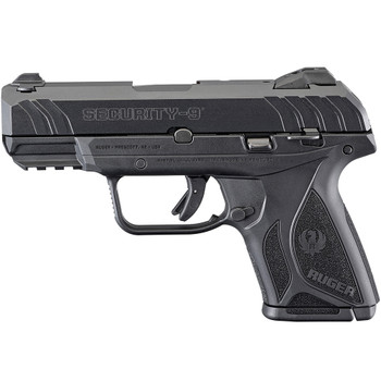 RUGER Security-9 Compact 9mm 3.42in 10rd Semi-Auto Pistol (3818)