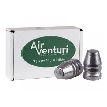 AIR VENTURI .356 Caliber 127Gr Flat Nose 100ct Pellets (AV9mm/127gr/FP)