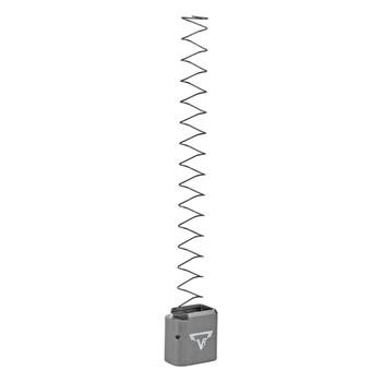 TARAN TACTICAL INNOVATION Firepower Titanium Gray Base Pad for Sig Sauer MPX +11 Magazine Extension (MPX9-05)