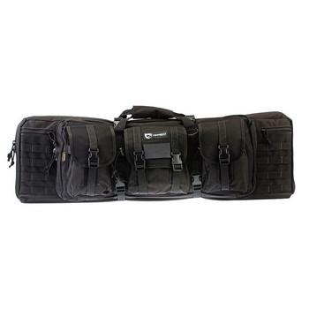 DRAGO GEAR 36in Black Double Gun Case (12-301BL)