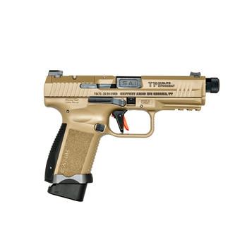 CANIK TP9 Elite Combat 9mm Luger 4.73in 18rd Flat Dark Earth Semi-Automatic Pistol (HG6481DN)