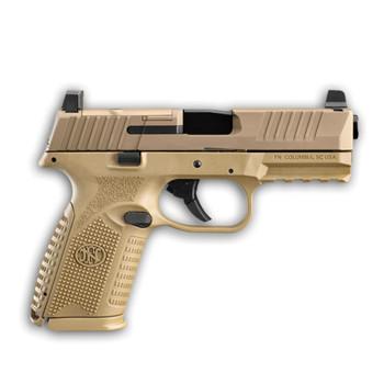 FN 509 Midsize MRD 9mm 4.0in 10rd Flat Dark Earth Semi-Automatic Pistol (66-100742)