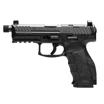 HK VP9 Tactical OR 9mm 4.7in 17rd Semi-Automatic Pistol (81000625)
