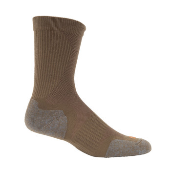 5.11 TACTICAL Slip Stream Dark Coyote Crew Sock (10033-106)