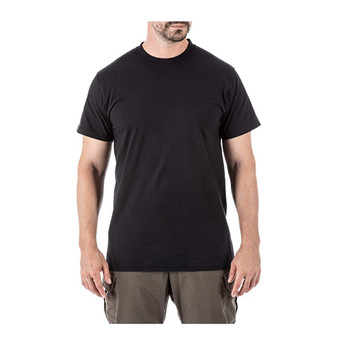 5.11 TACTICAL Utili-T Black Short Sleeve Crew T-Shirt 3-Pack (40016-019)