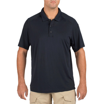 5.11 TACTICAL Helios Dark Navy Short Sleeve Polo (41192-724)