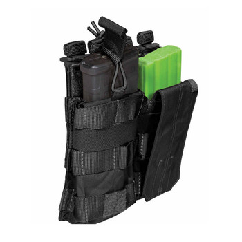5.11 TACTICAL Black AR Double Bungee/Cover Pouch (56157-019)