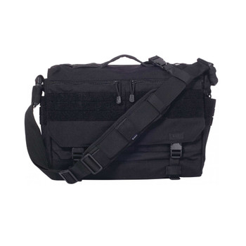 5.11 TACTICAL Rush Delivery Lima Black Messenger Bag (56177-019)