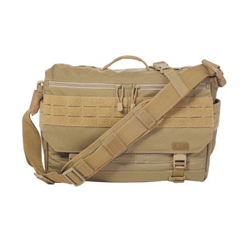 5.11 TACTICAL Rush Delivery Lima Sandstone Messenger Bag (56177-328)