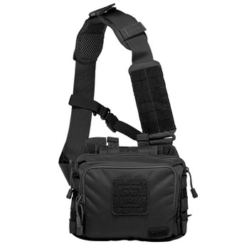 5.11 TACTICAL 2-Banger Black Bag (56180-019)