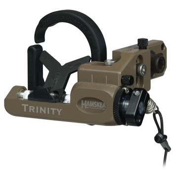HAMSKEA ARCHERY SOLUTIONS Trinity Hunter Pro Coyote Right Hand Micro Tune Arrow Rest (211775)
