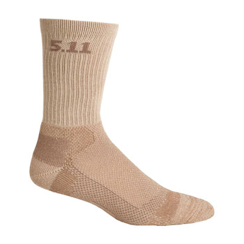 5.11 TACTICAL Level I 6in Coyote Sock (59047-120)