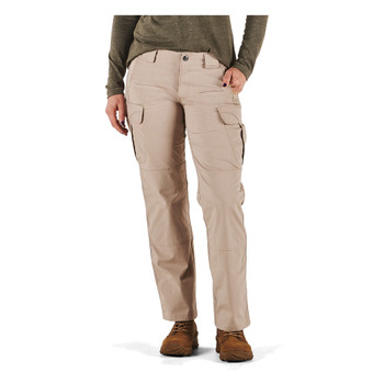 5.11 TACTICAL Womens Stryke Covert Cargo Khaki Pant (64386-055-0-R)