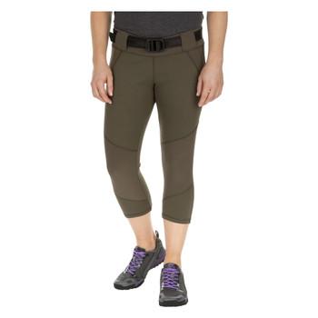 5.11 TACTICAL Womens Raven Range Capri Tundra Pant, Size: L (64408-192-L)