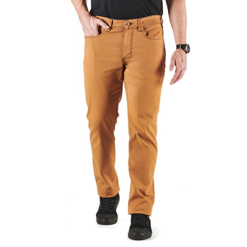 5.11 TACTICAL Men's Defender-Flex Range Brown Duck Pant (74517-080)