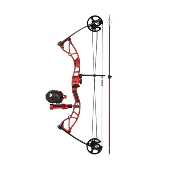 CAJUN Shore Runner RTF Kryptec Red RH Compound Bow Package (A19CB210045R)