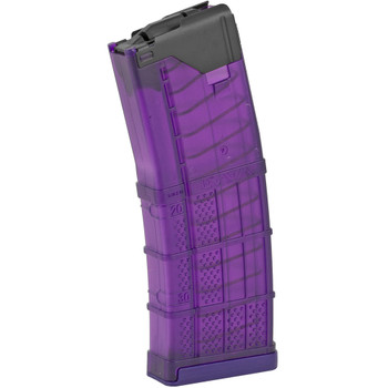 LANCER 223 Remington/556 NATO 30Rd Translucent Purple Magazine For AR Rifles (999-000-2320-50)