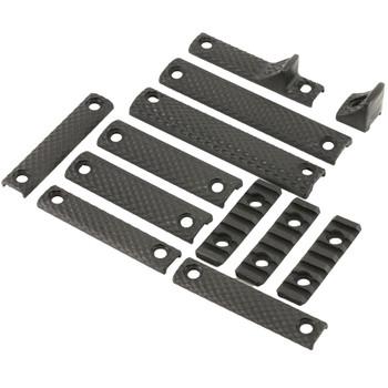 KNIGHTS ARMAMENT URX 3/3.1 12-Piece Black Rail Panel Kit (30409-BLK)