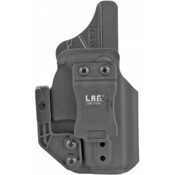 L.A.G. Tactical Appendix MK II Fits Springfield Hellcat Right Hand Black IWB Kydex Holster (80101)
