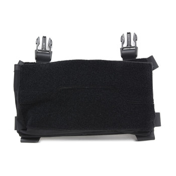 ACE LINK ARMOR Skeletac Double Stack Black Kanagaroo Pouch without Armor (SKLTC-DBLKNGROO-BK)
