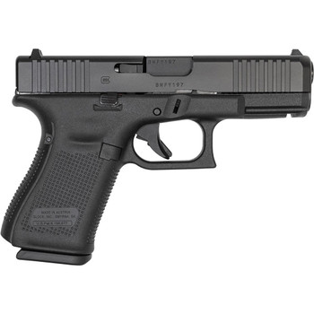 GLOCK G19 Gen5 9mm Luger 4.02in 10rd Black nDLC Pistol (PA195S201)