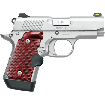 KIMBER Micro 9 9mm 3.15in 7rd Stainless Pistol (3700482)