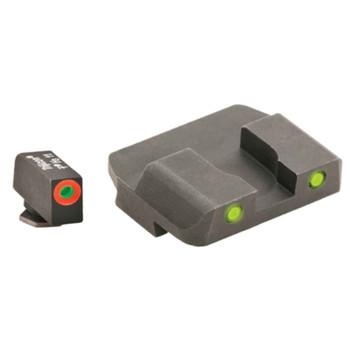 AMERIGLO Spartan Operator Sight Set for Glock 17,19,22,23,24,26,27,33,34,35,37,38,39 (GL-447)