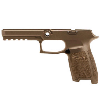 SIG SAUER Fits P320 9mm/40 Auto/357 Full Size Medium Coyote Grip Module Assembly (GRIP-MOD-F-943-M-COY)