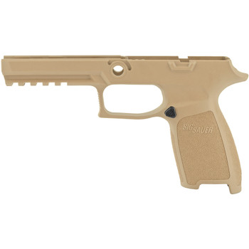 SIG SAUER Fits P320 9mm/40 Auto/357 Full Size Small Coyote Grip Module Assembly (GRIP-MOD-F-943-SM-COY)