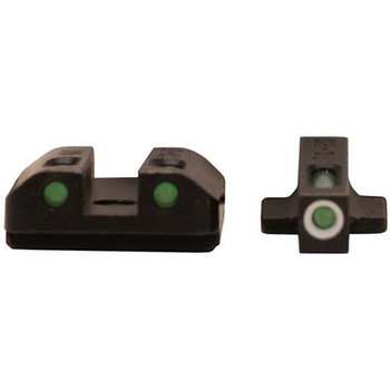 TRUGLO TFX Green Kahr Handgun Sights (TG13KA1A)