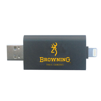 BROWNING TRAIL CAMERAS SD Card Reader For iOS (BTC-CR-UNI)