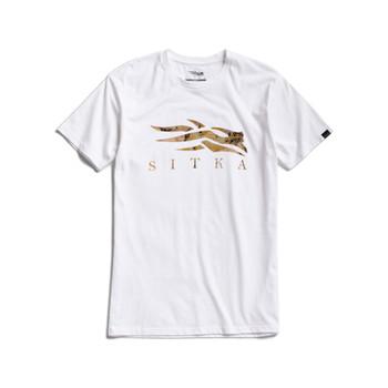 SITKA Men's Icon Marsh White T-Shirt (20187-WH)
