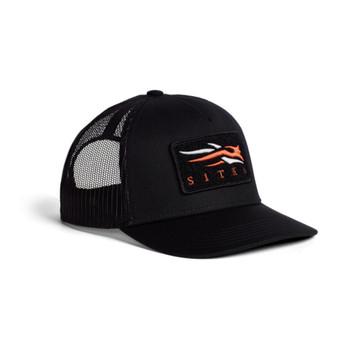 SITKA VP Icon Mid Pro Sitka Black Trucker (20196-BK-OSFA)