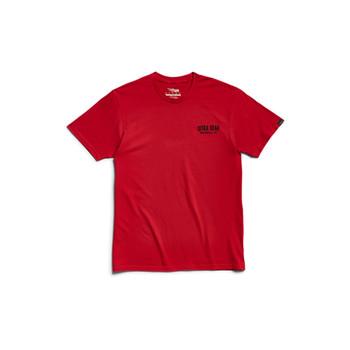 SITKA Signage Short Sleeve Tee Cardinal Shirt (20251-CD)