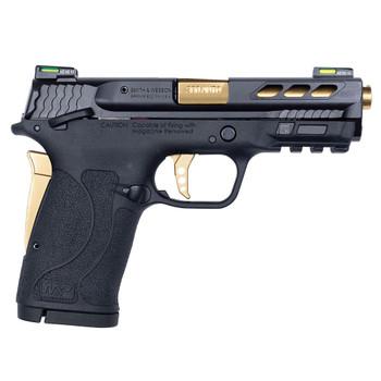 SMITH & WESSON Performance Center M&P 380 SHIELD EZ M2.0 Gold Ported Barrel Pistol (12719)