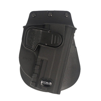 FOBUS Paddle Right Hand Holster For Smith & Wesson M&P (SWCH)