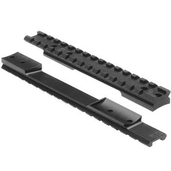 NIGHTFORCE X-Treme Duty Fits Rem 700 LA 1pc 40 MOA Steel Bases (A113)