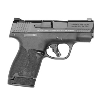 SMITH & WESSON M&P 9 Shield Plus No Thumb Safety 9mm Luger 3.1in 10/13rd Black Pistol (13248)