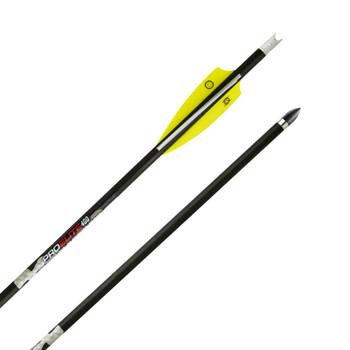 TENPOINT Pro Elite 400 6-Pack Carbon Arrow with Alpha-Nock (HEA-660.6)