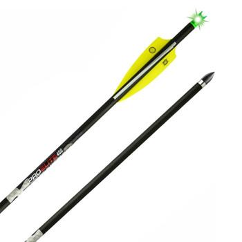 TENPOINT Pro Elite 400 6-Pack Alpha-Brite Lighted Carbon Arrow (HEA-668.6)